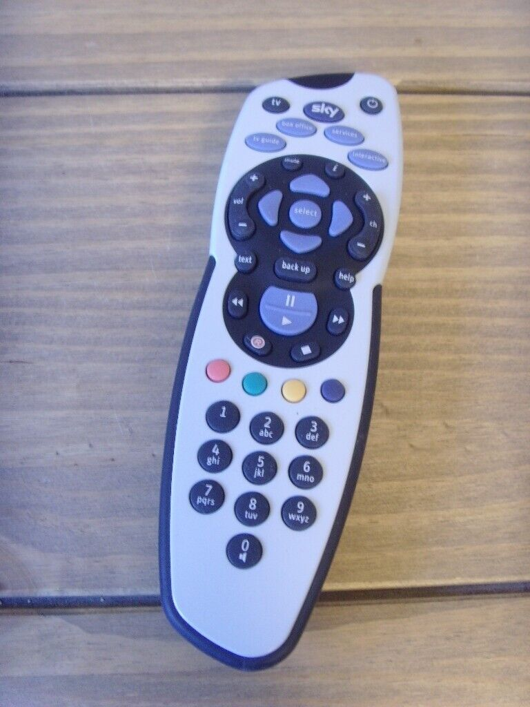 how to set up sky remote control with sky box