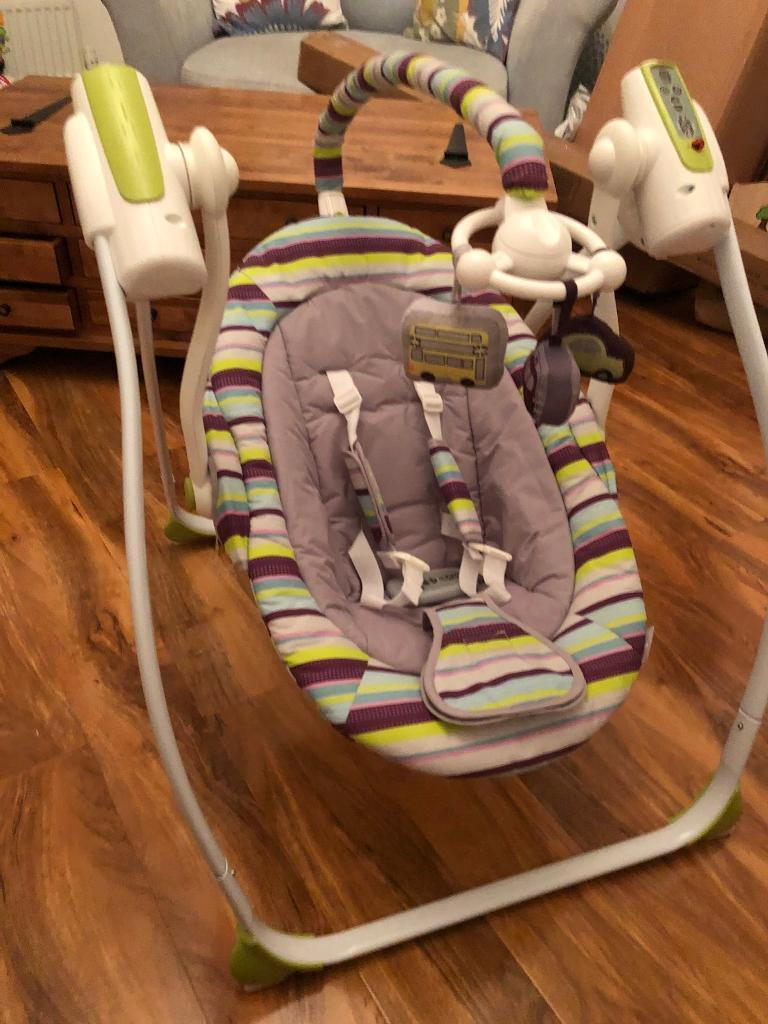Babylo electric baby swing
