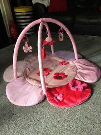 Girls luxury playmat