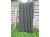 Corrugated felt sheets