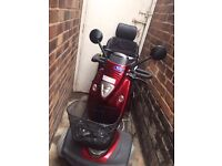 TGA MYSTERE Mobility scooter red