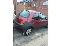 Ford Ka for sale spares or repairs