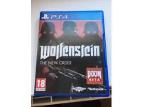 PS4 game - Wolfenstein