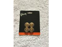 GIBSON AMBER SPEED KNOBS TO SUIT GIBSON GUITAR
