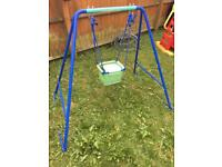 2 in 1 children's converting outdoor swing-suitable for baby-older child