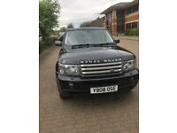 Black Range Rover sport, black leather, fridge, fsh, and receipts. New company car forces sale.