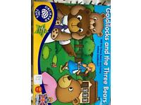 Orchard toys Goldilocks and the 3 bears game