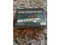 Proffessional texas holdem pojers ser NEW in packaging
