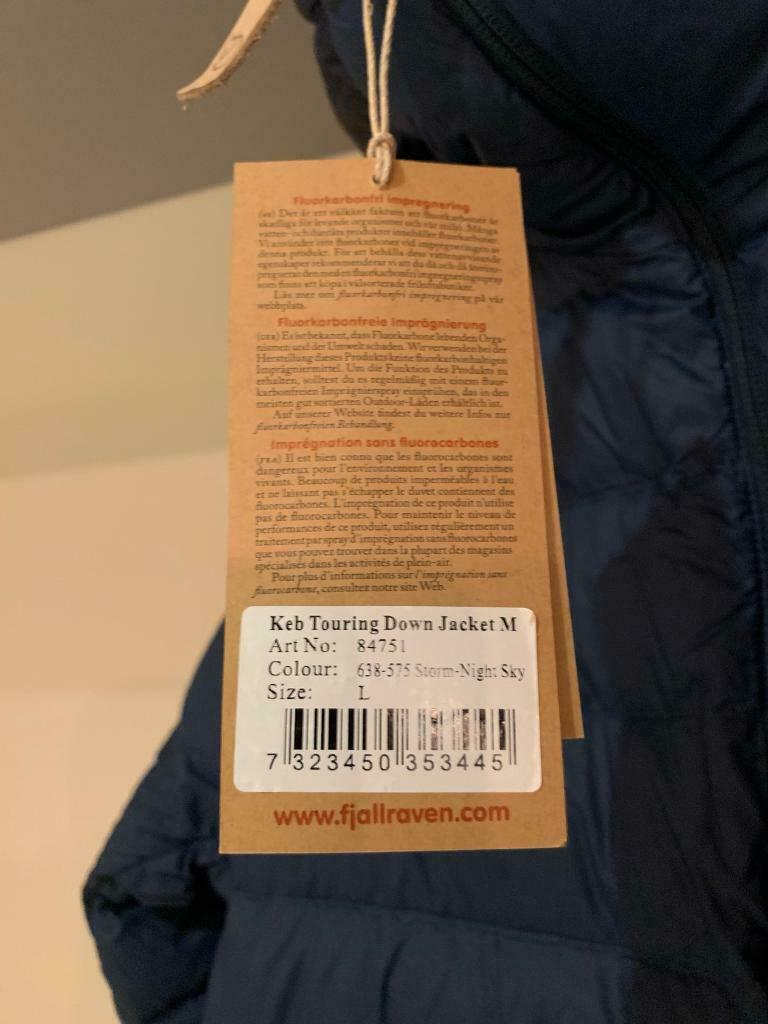 fa99b340b6 Fjallraven Keb Touring Jacket - Men s Large NEW down