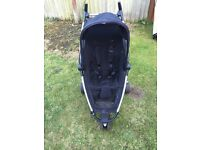 Quinny zapp rocking black standard single stroller with extra accessories