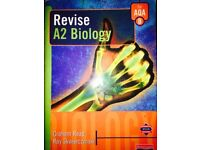 Revise A2 Biology revision guide. Good condition like new.