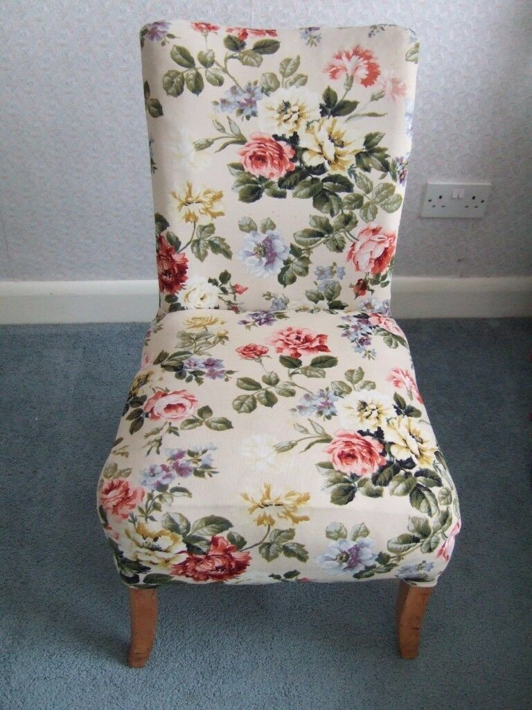 Vintage teak bedroom chair/nursing chair - charity sale
