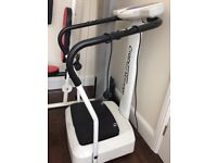 Crazy Fit Vibrator Plate Exercise Machine
