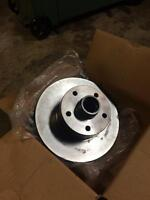 vanagon front rotors, rear shoes ball joint spacers
