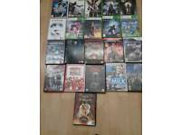 Xbox 360 games and dvds
