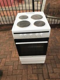 Tidy. 50cm. Electric. Cooker