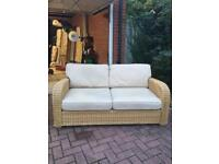 Conservatory suite rattan
