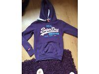 Superdry hoodie (small)
