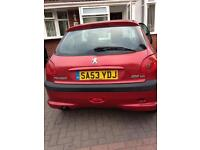 2003 Peugeot 206 1.4 hdi £30 tax