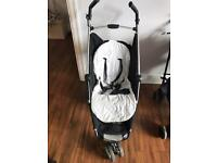 Petite star light weight foldable buggy