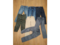 Bundle of 22 clothes for boy 5-6-7 years in very good and good condition.