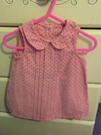 3/6 months girls cord dress