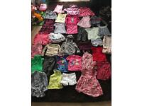 3-4year girls bundle of clothes