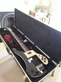 This is NOT a Rickenbaccer bass guitar