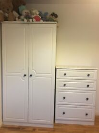 Pembroke wardrobe and chest of drawers