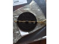 """Stovax 6"""" cast iron damper for wood burning stove"""