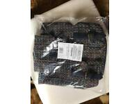 Brand new Blue Denim with Aztec Print Bag 15 pounds only