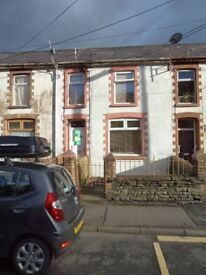 Superb Elevated 3 Bed Terraced House in quiet Location with Fantastic Views, In Ogmore Vale.