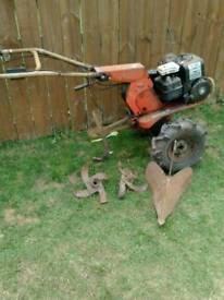 Vintage garden tractor/rotivator
