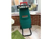 BOSCH shedder AXT RAPID 2200 only used a few times