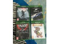 Xbox one 4 Brand New games