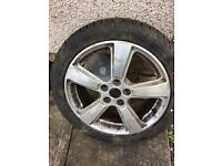 17 inch ford alloy with brand new tyre