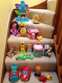 Toys toys toys - 0 to 1.5yrs all clean and non-smoking house