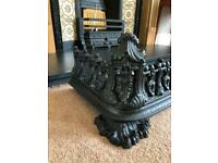 Victorian Cast Iron Fender