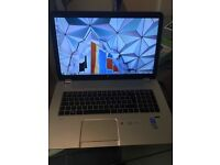 """HP ENVY 2013 17"""" used for 1 month 12GB windows *.1"""