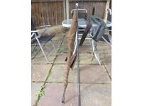 Fishing landing net and Nash cradle