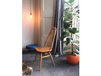 Ercol high backed original 1960's chair