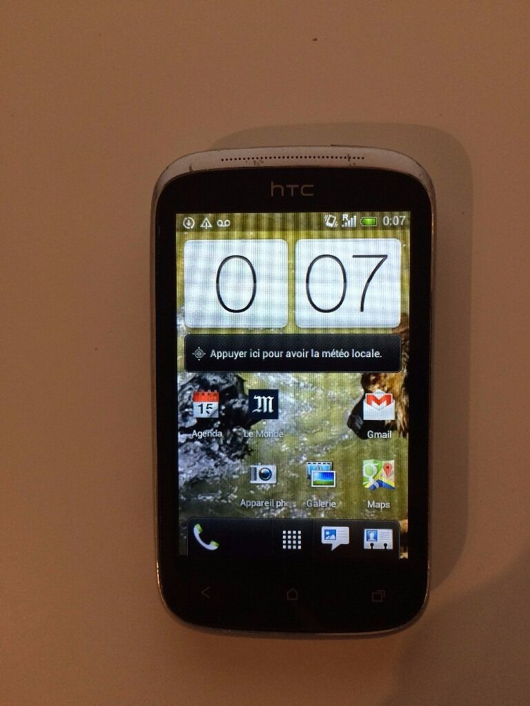 Smartphone HTC Desire C A320Ein Westminster, LondonGumtree - Smartphone HTC Desire C A320E in good condition and ready to use