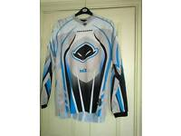 Motorcross top and jeans