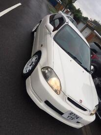 Honda Civic Type R EK9 JDM B16 (not GTR EVO AUDI R32 GOLF)
