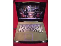 "Dell Alienware 17"" Gaming laptop with Tech 21 shock resistant carry case."
