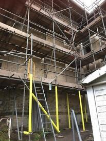 Scaffolding north west roofing projects
