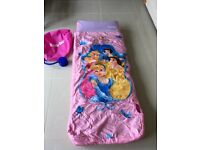 Disney princess inflatable ready bed