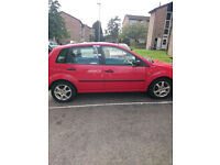 Ford Fiesta Finesse 2002-still drives-clutch slipping- 5-Door Red Manual- MOT 21 April 2017