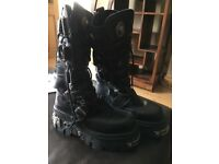 Ladies New Rock Boots size 7