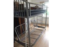 Metal Futon Bunk Bed Frame - used